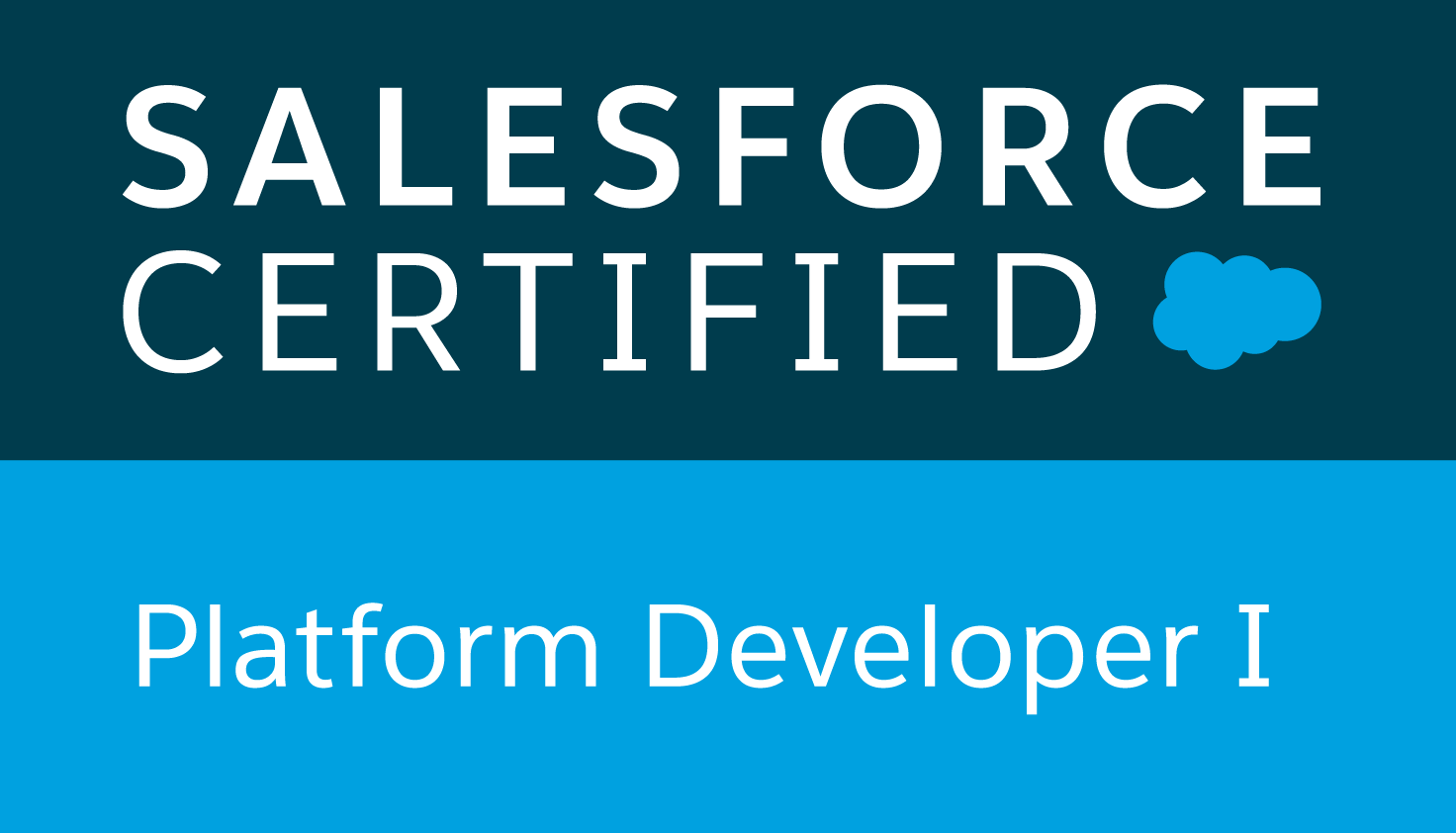 Salesforce Certified Platform Developer 1