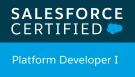 Salesforce Certified Platform Developer 1