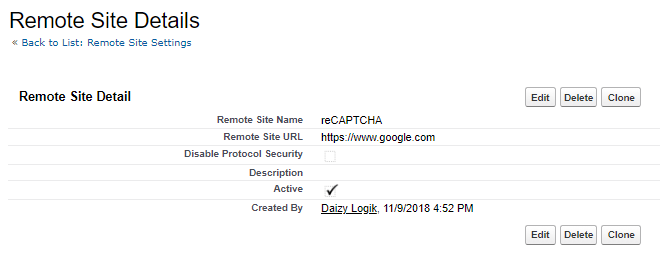 Adding CAPTCHA to Volunteers for Salesforce Sign Up Form