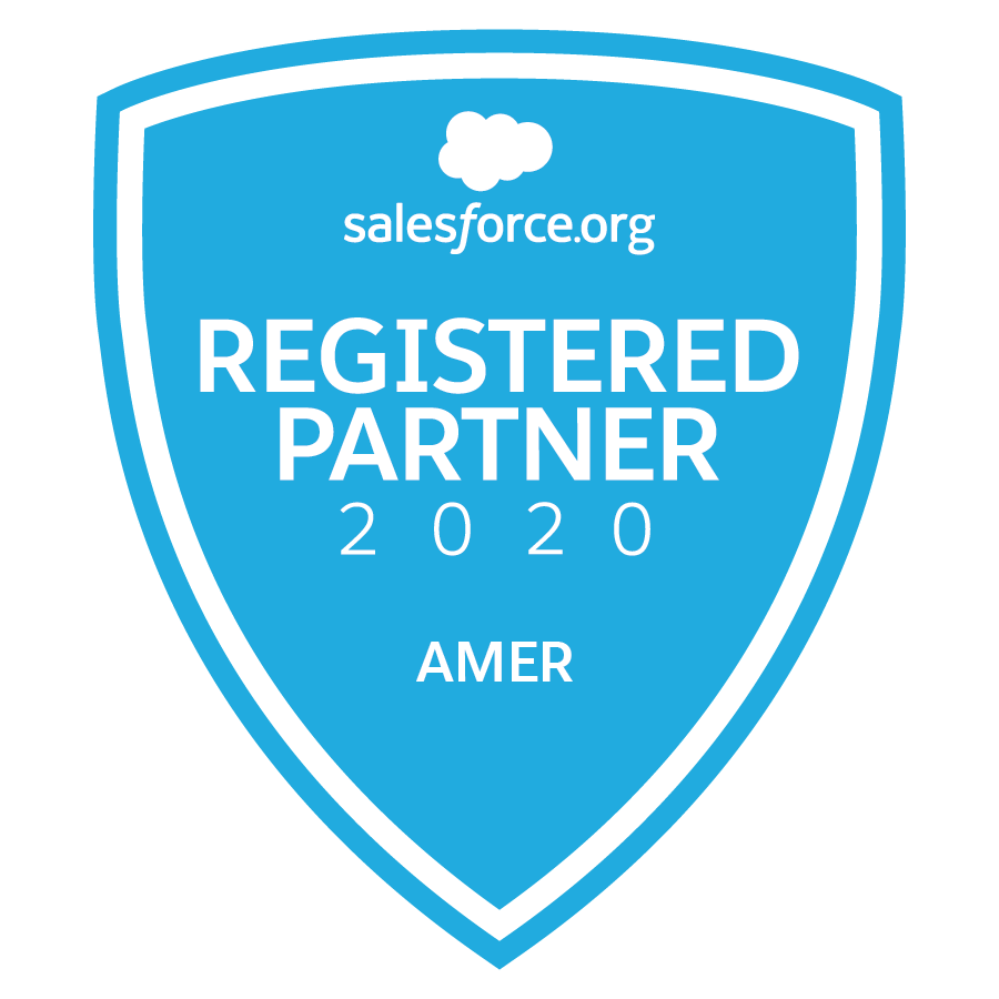 Salesforce.org Registerd Partner 2020 AMER
