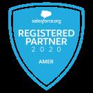 Salesforce.org Registerd Partner 2020 AMER